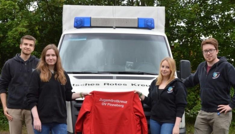 Neue Einsatzjacken für das Jugendrotkreuz Pinneberg