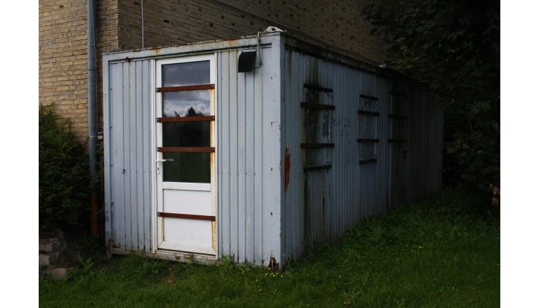 Neuer Materialcontainer für unseren Fußballverein in Pahlen