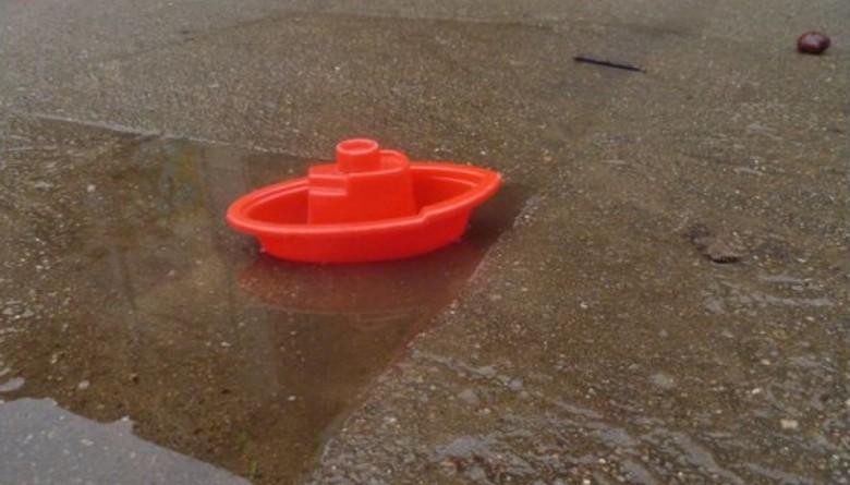 Neue Wasserspielmöglichkeit für den Kindergarten