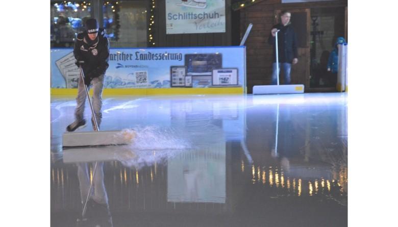 Überdachung der Heider Eisbahn