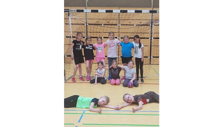 Trikots für Handballjugendmannschaften des BSV Kisdorf