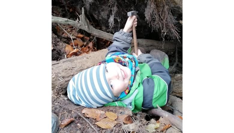 Schutzhütte für unsere Natur- und Waldgruppe