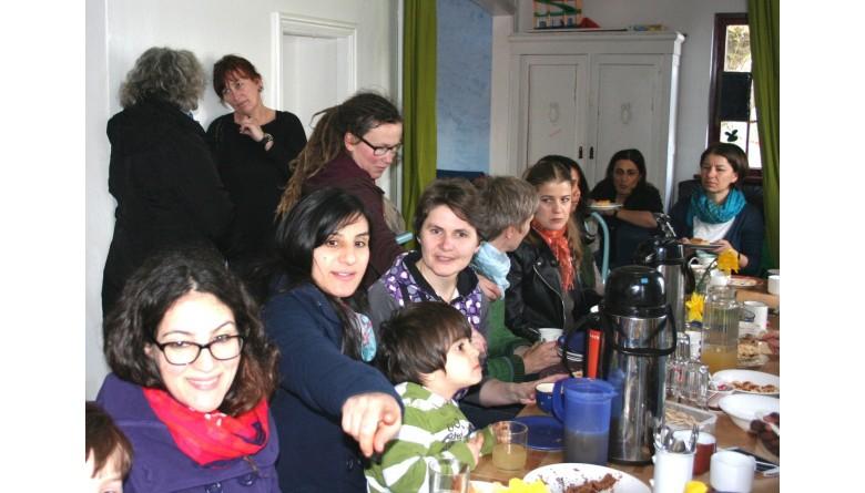 Frauencafe im Solizentrum der Walli