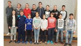 Einheitliche Teamausstattung der C-Jugend des Ostroher SC