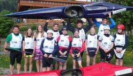 Kauf eines Zweier-Canadiers für die Teilnahme an der Junioren-EM im Kanu-Wildwasserrennsport in Skopje
