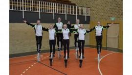Schmalfelder SV Einradgruppe - Teilnahme Europameisterschaft 2019