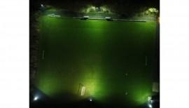 Neue Flutlichtanlage für den TSV Oldenswort 2