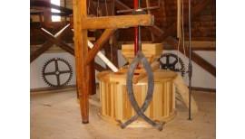 Restaurierungmaßnahmen an der Riepenburger Mühle in Hamburg - Kirchwerder 4