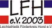 Logo Leichtathletik Förderkreis Horst e.V.