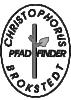 Logo Christophorus Pfadfinder der Kirchengemeinde Brokstedt