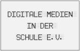 Logo Digitale Medien in der Schule e.V.