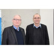 Karsten Wessels und Prof. Dr. Hans-Jürgen Block